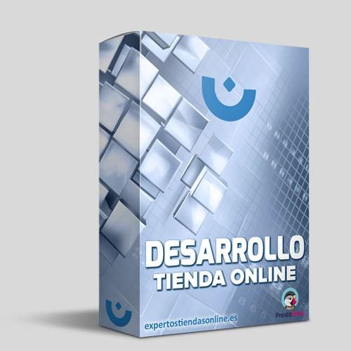 Desarrollo tienda online con plantilla